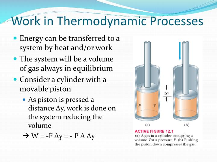 work in thermodynamic processes n.