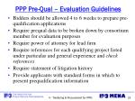 ppp pre qual evaluation guidelines2