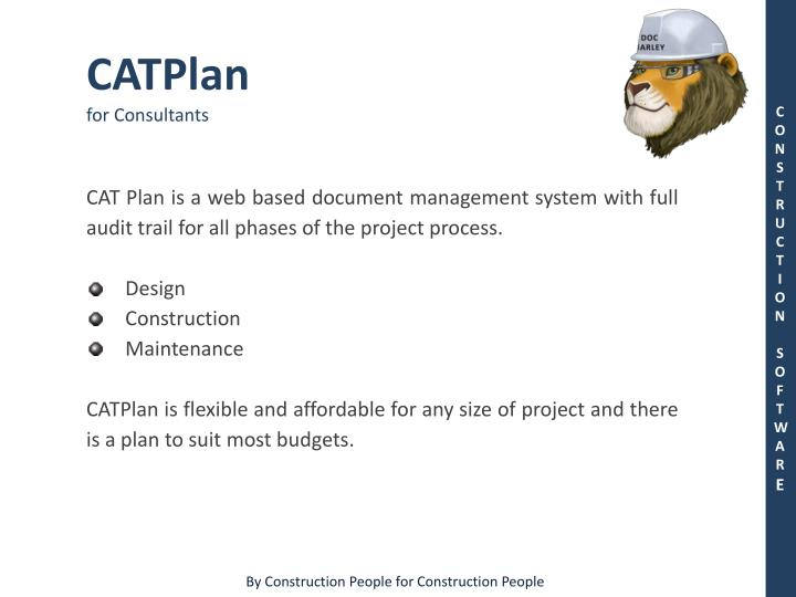 catplan for consultants n.
