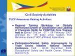 civil society activities