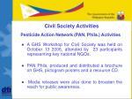 civil society activities1