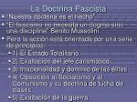 la doctrina fascista