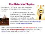 oscillators in physics
