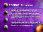 promoe requisitos1