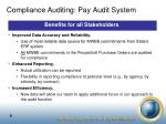 compliance auditing pay audit system1