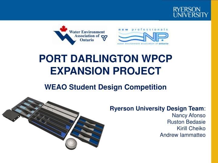 port darlington wpcp expansion project n.