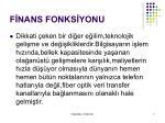 f nans fonks yonu1