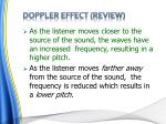 doppler effect review
