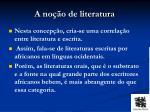 a no o de literatura1