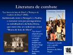 literatura de combate1