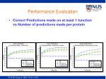 performance evaluation2