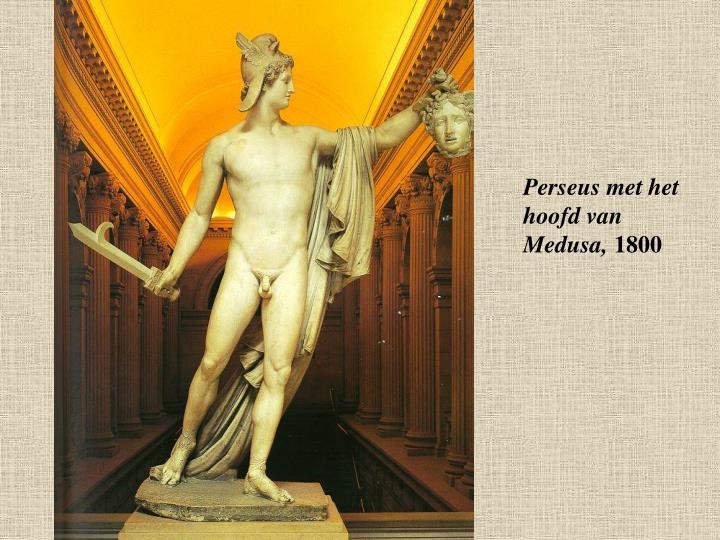 Perseus met het hoofd van Medusa,