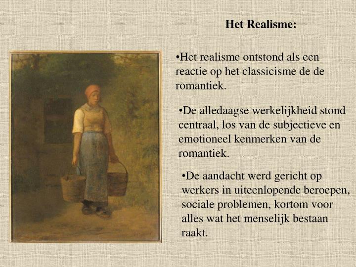 Het Realisme: