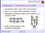 introduction the problem to be solved
