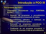 introdu o poo iii