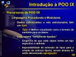 introdu o poo ix