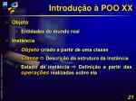 introdu o poo xx