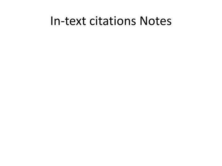 in text citations notes n.