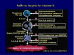 asthma targets for treatment