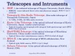 telescopes and intruments1