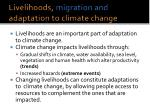 livelihoods migration and adaptation to climate change2