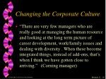 changing the corporate culture3