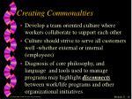 creating commonalties1