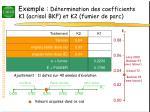 exemple d termination des coefficients k1 acrisol bkf et k2 fumier de parc