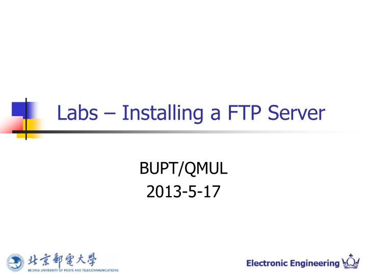 labs installing a ftp server n.