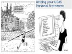 writing your ucas personal statement
