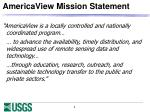 americaview mission statement