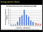 energy decline world