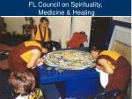 fl council on spirituality medicine healing