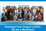 greetings from oregon s ocsc we are a movement