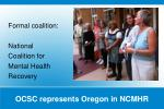 ocsc represents oregon in ncmhr