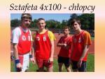 sztafeta 4x100 ch opcy