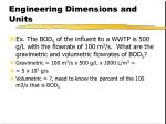 engineering dimensions and units10
