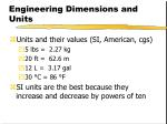 engineering dimensions and units2
