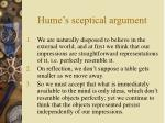 hume s sceptical argument