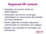 regionaal np netwerk