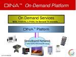 dina on demand platform1