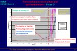 time evolutions of solid fuel and gas temperature slope 0