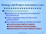 strategy and project assessment cont1