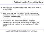defini es de competitividade