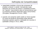 defini es de competitividade1