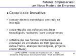 fatores empresariais um novo modelo de empresa1