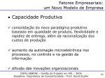 fatores empresariais um novo modelo de empresa2