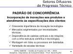 setores difusores de progresso t cnico1