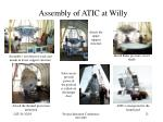 assembly of atic at willy