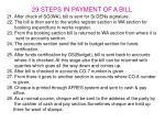 29 steps in payment of a bill2